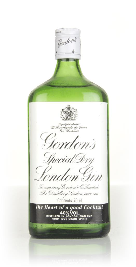 Gordons Special Dry London Gin (40%) - 1980s London Dry Gin