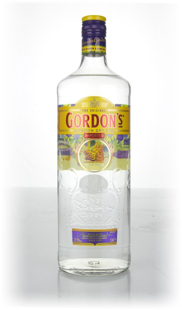 Gordons Yellow Label - Travellers Edition London Dry Gin