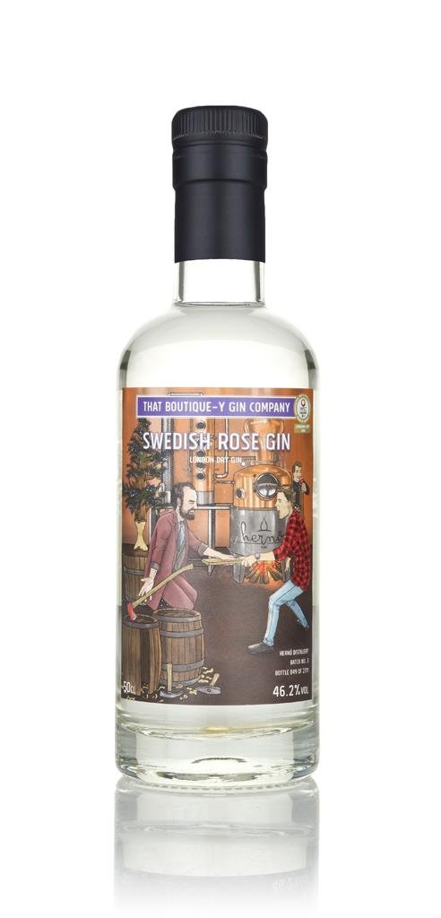 Swedish Rose Gin - Herno (That Boutique-y Gin Company) London Dry Gin