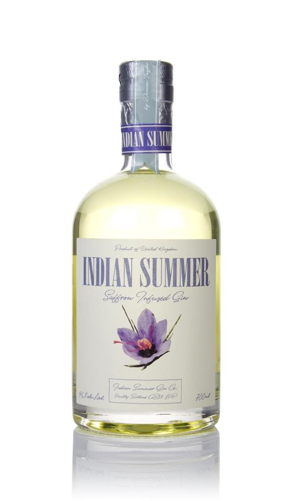 Indian Summer Saffron Infused Gin 3cl Sample Gin