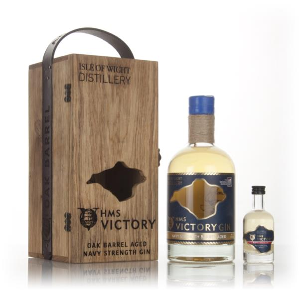 HMS Victory Oak Barrel Aged Navy Strength Gin - 1st Release Cask Aged Gin