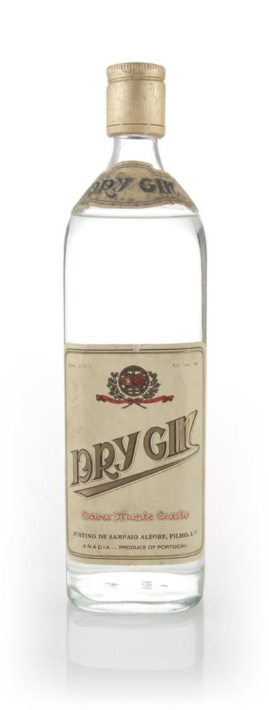 Caves Monte Crasto Dry Gin - 1970s Gin