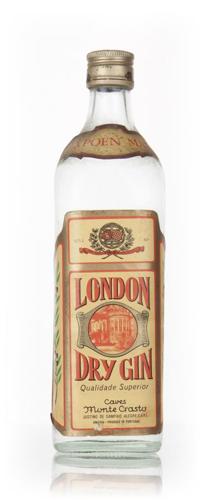 Caves Monte Crasto London Dry Gin - 1970s London Dry Gin