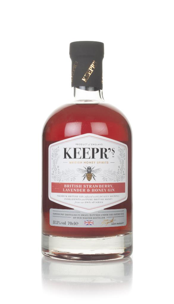 Keepr's English Strawberry & Lavender Gin 3cl Sample Flavoured Gin