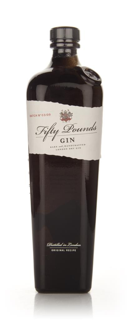 Fifty Pounds Gin 3cl Sample London Dry Gin