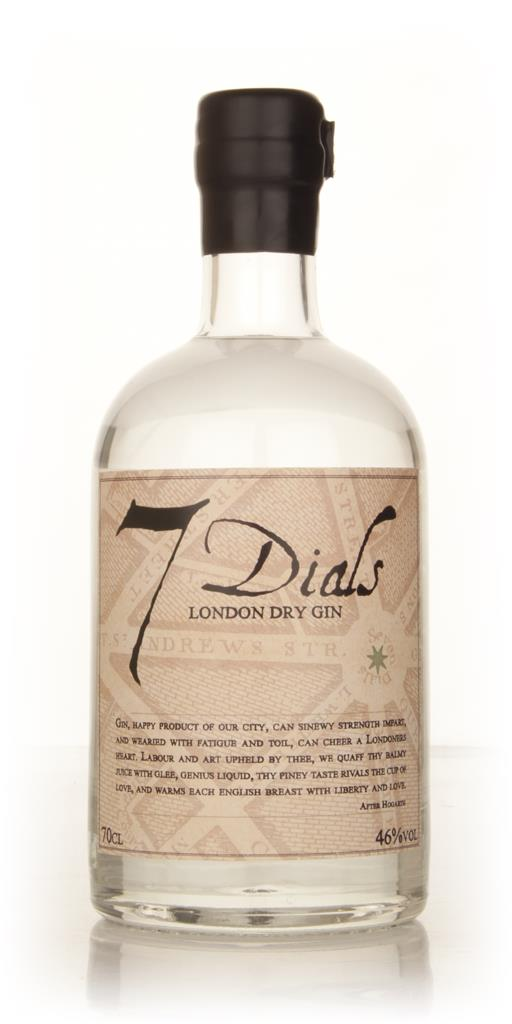 7 Dials London Dry Gin 3cl Sample London Dry Gin