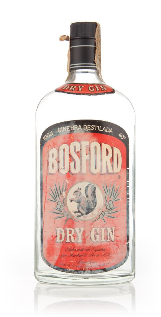 Bosford Dry Gin (40%) - 1960s Gin