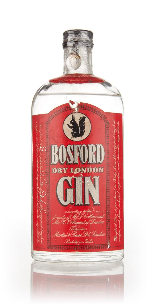 Martini & Rossi Bosford Dry London Gin - 1949 3cl Sample Gin