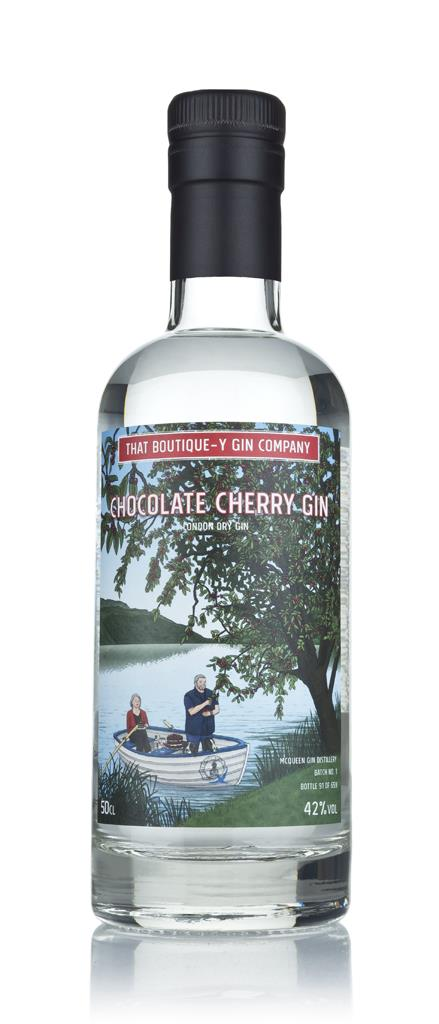 Chocolate Cherry Gin - McQueen (That Boutique-y Gin Company) 3cl Sampl London Dry Gin 3cl Sample