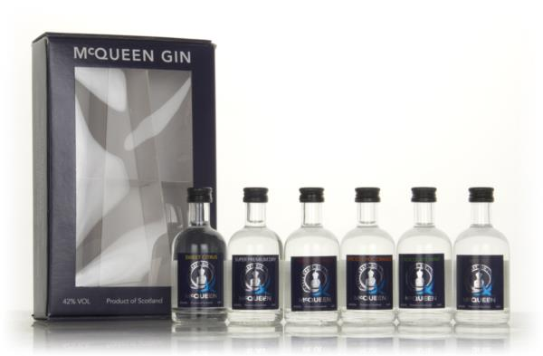 McQueen Gin Gift Pack (6 x 5cl) Flavoured Gin