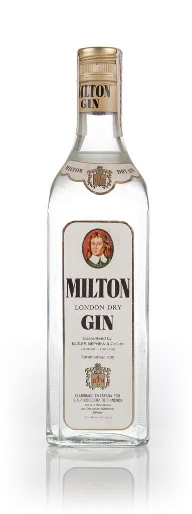 Milton London Dry Gin - 1970s London Dry Gin