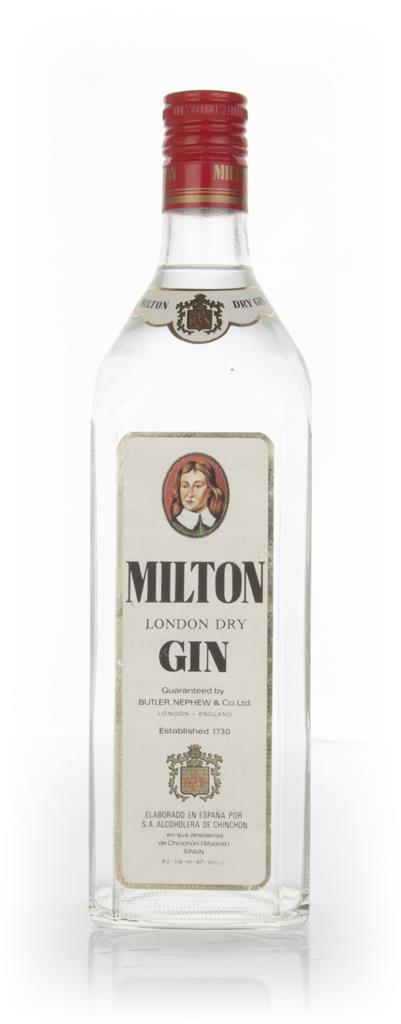 Milton London Dry Gin - 1970s Gin