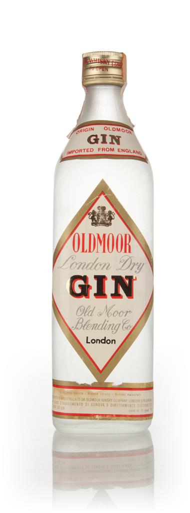 Oldmoor London Dry Gin 75cl - 1960s London Dry Gin
