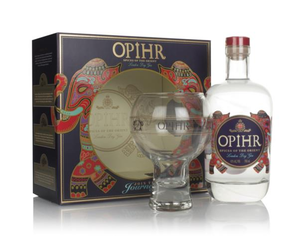 Opihr Oriental Spiced Gin Gift Pack with Glass London Dry Gin