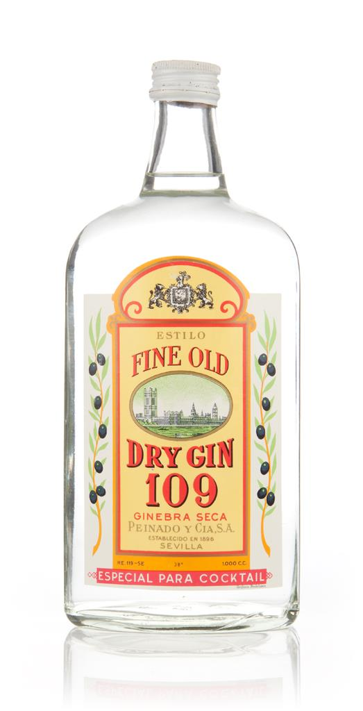 Peinado Fine Old Dry Gin 109 - 1970s Gin