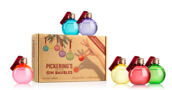 Pickering's Gin Christmas Baubles Gin