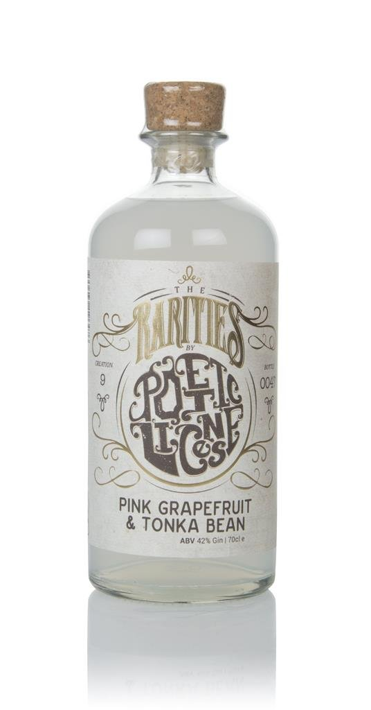 Poetic License Pink Grapefruit & Tonka Bean Gin 3cl Sample Flavoured Gin