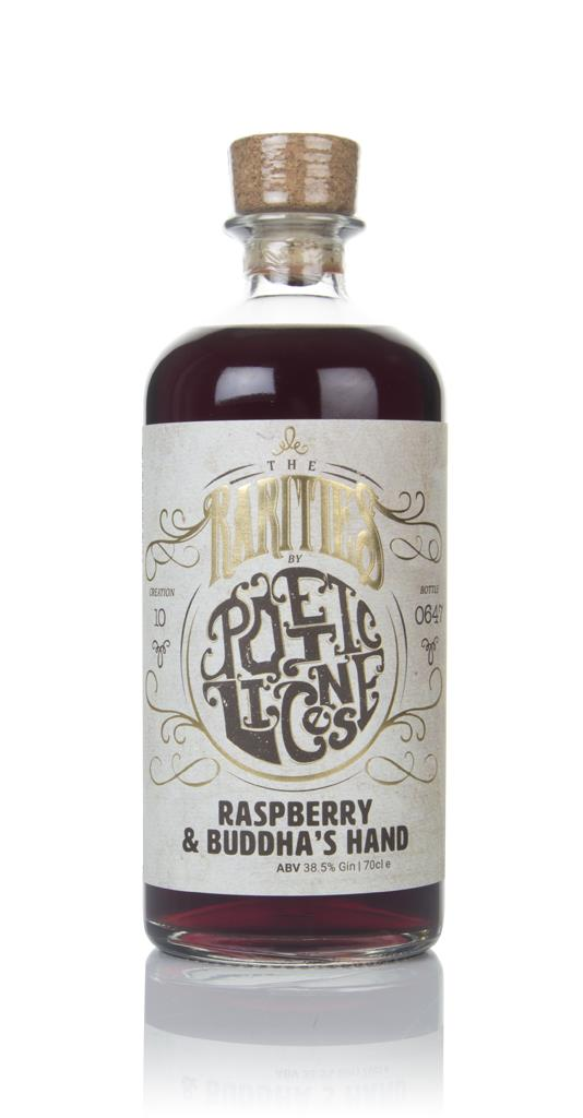 Poetic License Raspberry & Buddhas Hand Flavoured Gin