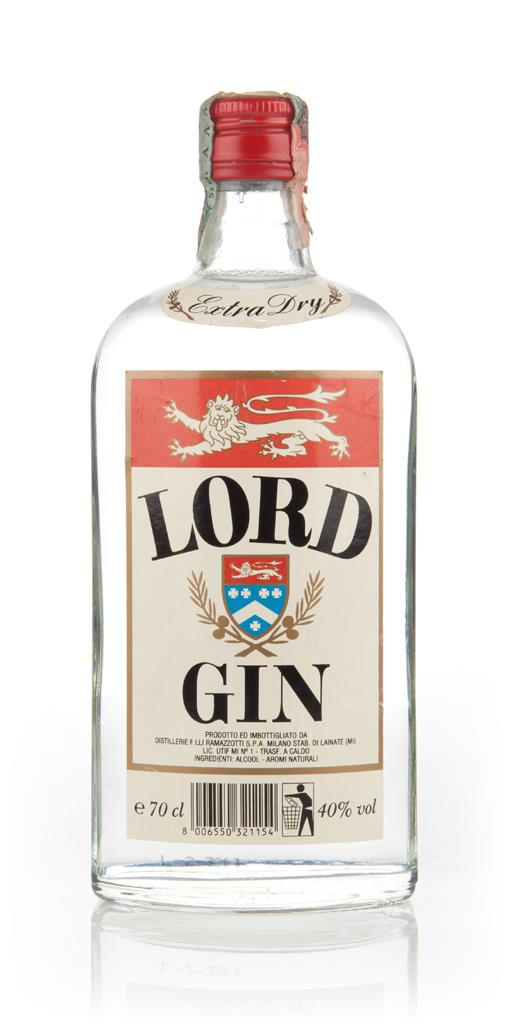 Lord Gin (70cl) - 1980s Gin