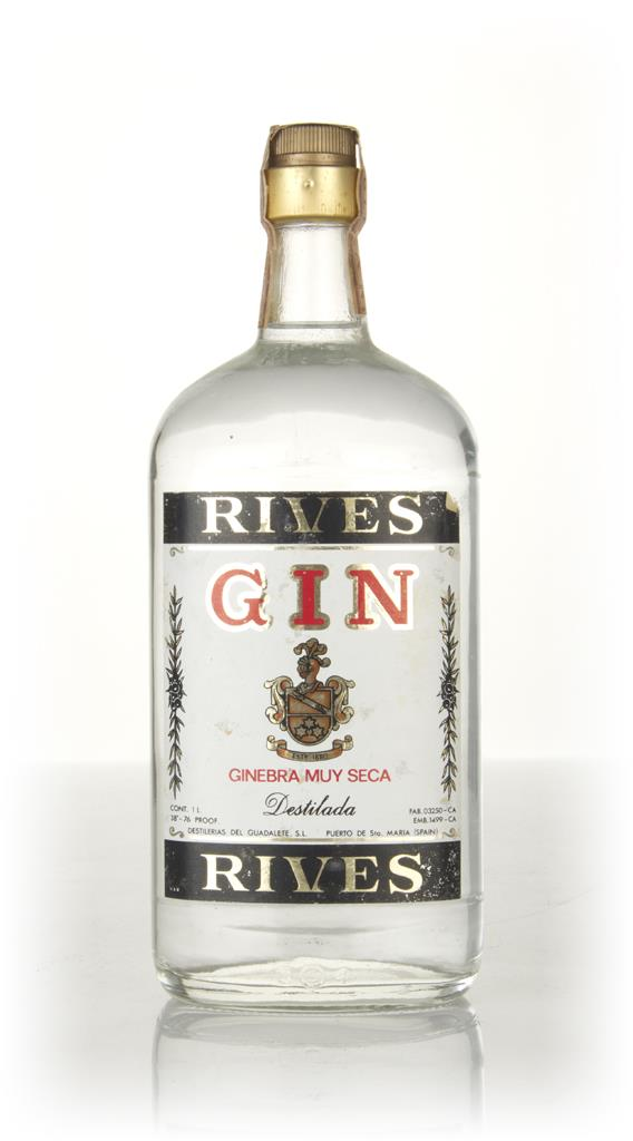 Rives Extra Dry Gin - 1970s Gin