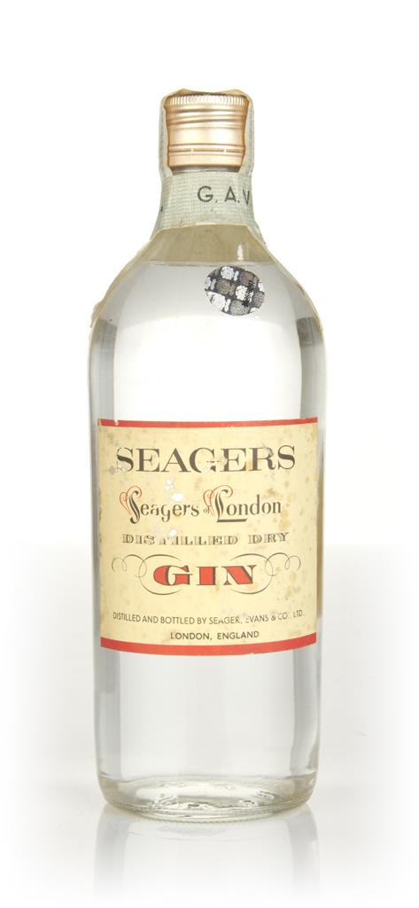 Seagers London Dry Gin - 1960s London Dry Gin