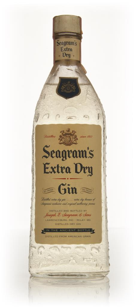 Seagrams Extra Dry Gin - 1960s Gin