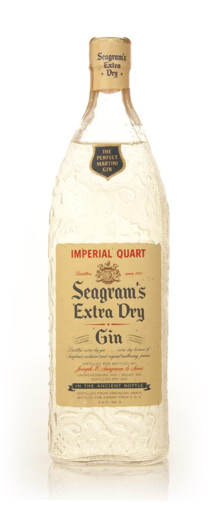 Seagrams Extra Dry Gin 1.14l - 1960s Gin