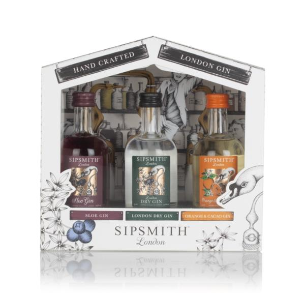 Sipsmith Gin Triple Pack (3 x 5cl) Gin