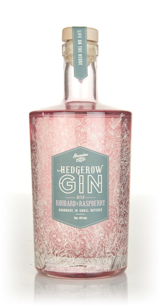 Sloemotion Hedgerow Gin - Rhubarb and Raspberry 3cl Sample Flavoured Gin