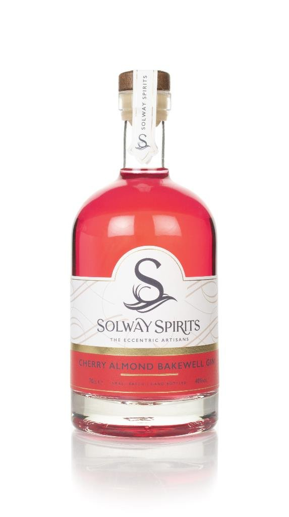 Solway Cherry Almond Bakewell Flavoured Gin