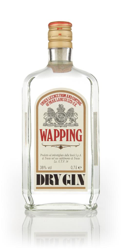 Wapping Dry Gin - 1980s Gin