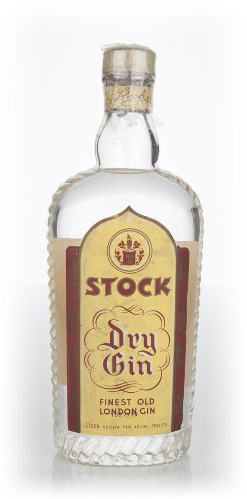 Stock Dry Gin - 1950s London Dry Gin