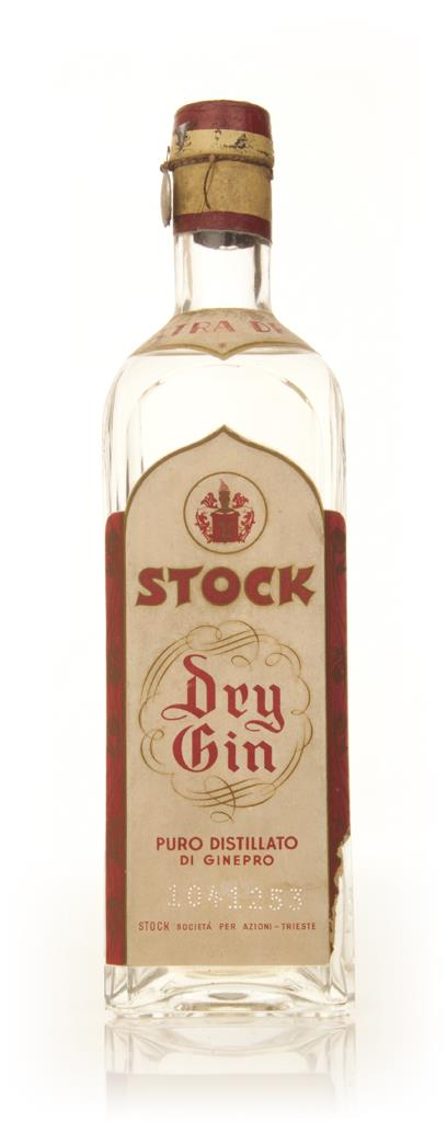 Stock Extra Dry Gin - 1949-59 Gin