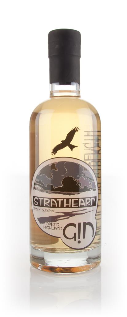 Strathearn Oaked Highland Gin - Distillery Strength 3cl Sample Cask Aged Gin