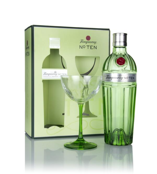 Tanqueray No. Ten Gift Pack with Coupette Glass Gin