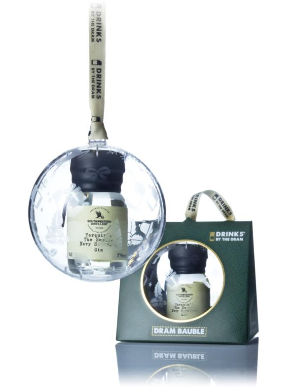Drinks by the Dram Single Bauble - Tarquins The Seadog Navy Strength Gin