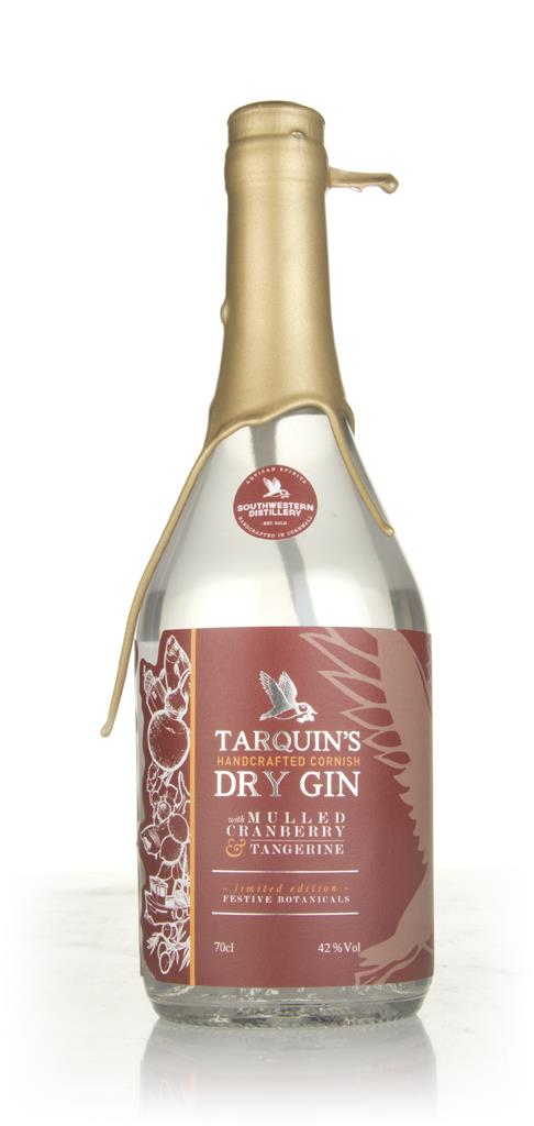 Tarquins Mulled Cranberry & Tangerine 3cl Sample Flavoured Gin
