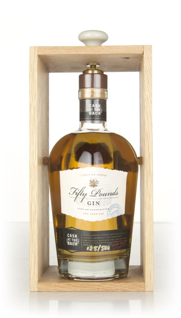 Fifty Pounds Gin - Cask at the Back Cask Aged Gin