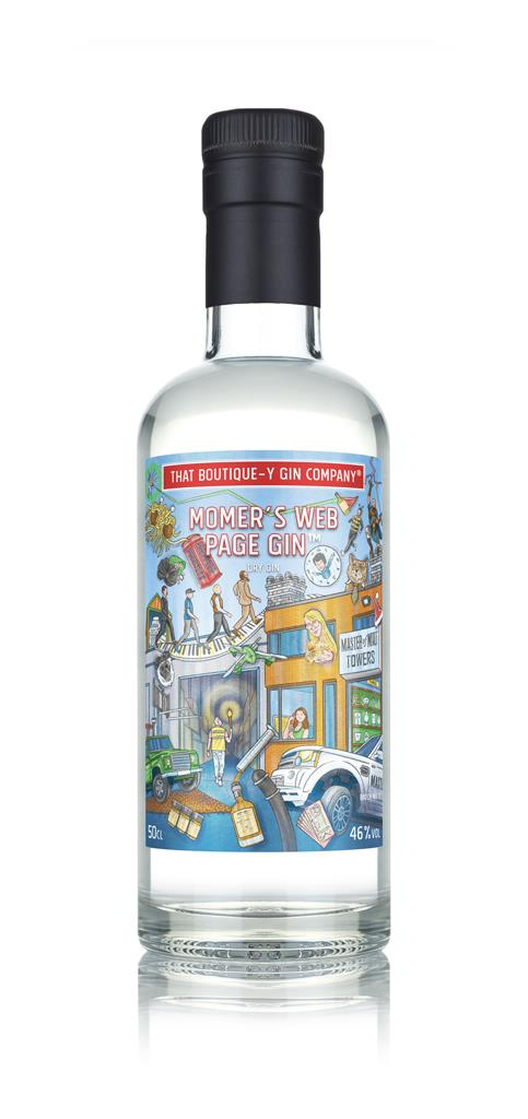 MoMers Web Page Gin (That Boutique-y Gin Company) Gin