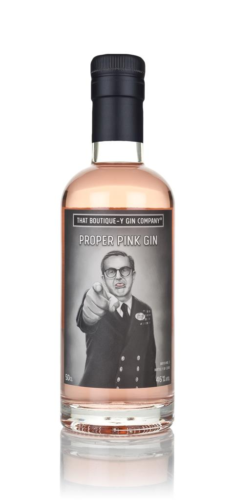 Proper Pink Gin (That Boutique-y Gin Company) 3cl Sample Gin