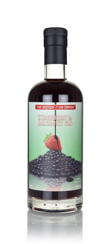 Strawberry & Balsamico Gin (That Boutique-y Gin Company) Flavoured Gin