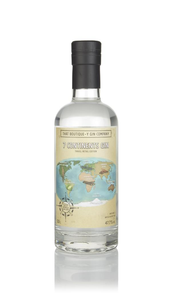 World Gin Day Gin - 7 Continents Gin (That Boutique-y Gin Company) 3cl Gin 3cl Sample