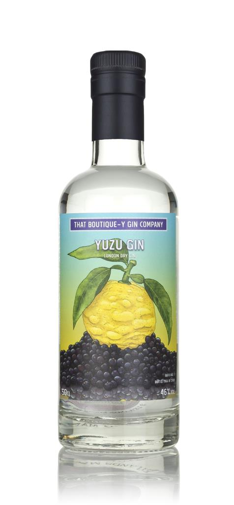 Yuzu Gin (That Boutique-y Gin Company) 3cl Sample London Dry Gin