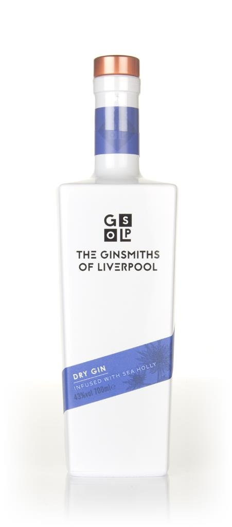 The Ginsmiths Of Liverpool Dry Gin 3cl Sample Gin