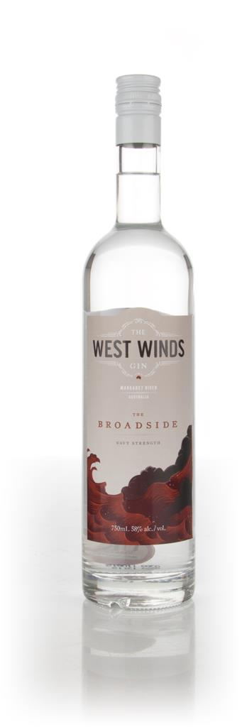 The West Winds Gin - The Broadside 75cl Gin