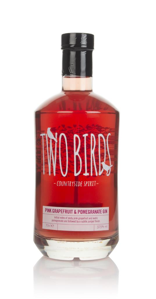 Two Birds Pink Grapefruit & Pomegranate Flavoured Gin