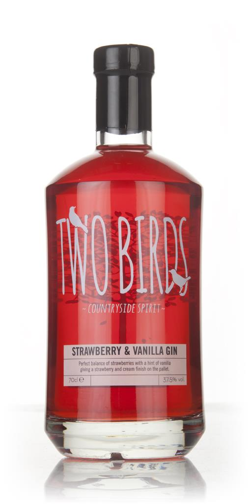 Two Birds Strawberry and Vanilla Gin 3cl Sample Flavoured Gin