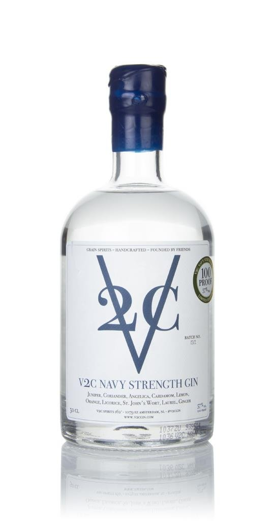 V2C Navy Strength Dutch Dry Gin 3cl Sample Gin