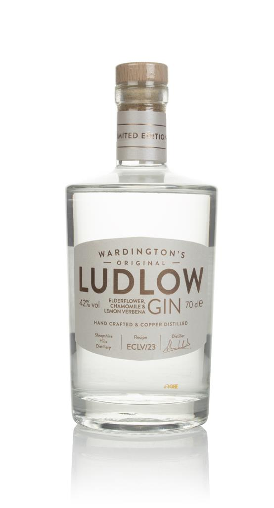 Wardington's Ludlow Gin - Elderflower, Chamomile & Lemon Verbena Flavoured Gin
