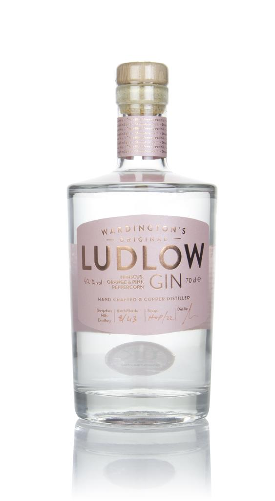 Wardington's Ludlow Gin - Hibiscus, Orange & Pink Peppercorn Gin
